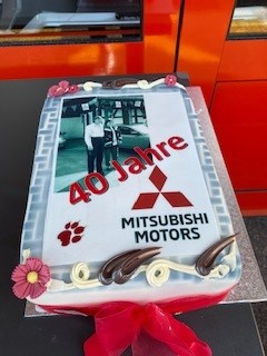 40 Jahre Mitsubishi-Vertretung